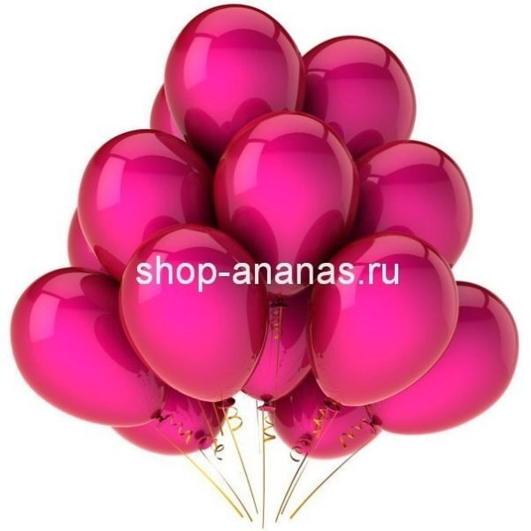 Набор розовых шаров