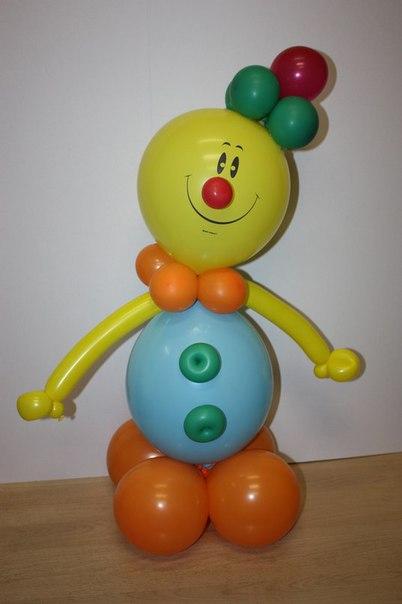 Фигуры с шариков своими руками